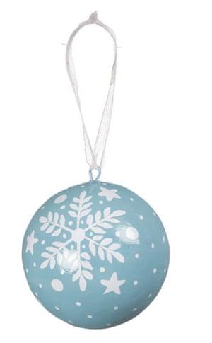 Christmas decorations: John Lewis bauble