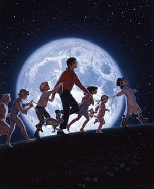 Michael Jackson paintings: David Nordahl Paintings Of Michael Jackson