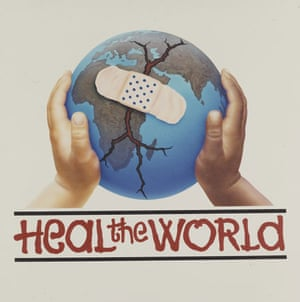 David Nordahl paintings: 'Heal The World'