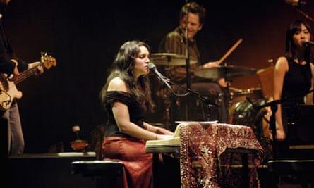 Norah Jones performs in Dublin