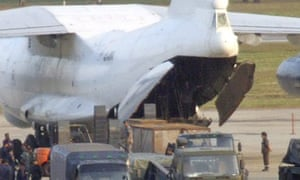 North Korea plane smuggled arms