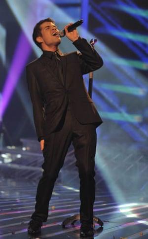 X-Factor final: Joe Mcelderry
