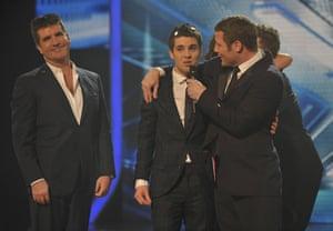 X-Factor final: Joe Mcelderry wins the X-Factor