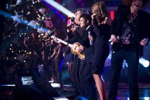 X-Factor final: Paul McCartney performing at the X Factor final