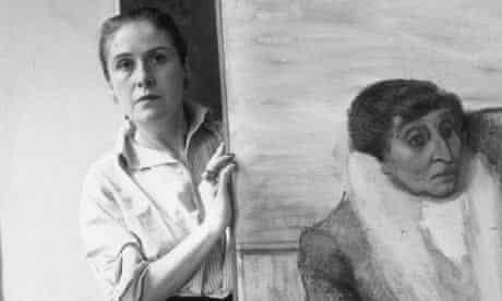 Portrait of Yugoslav-born photographer and artist Dora Maar