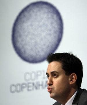 Copenhagen Diary: COP15 British Environment Minister Ed Miliband