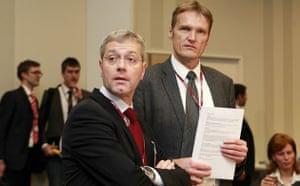 Copenhagen Diary: Germany's COP15 Environment Minister Rottgen talks with Karsten Sach
