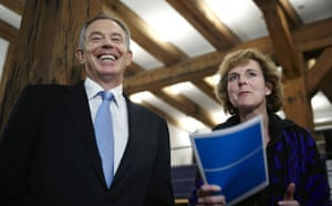 Copenhagen Diary: Tony Blair Danish COP15 President Connie Hedegaard