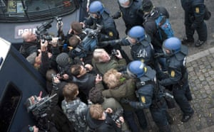 Copenhagen Diary: COP15 : Police clash with journalists and photographers