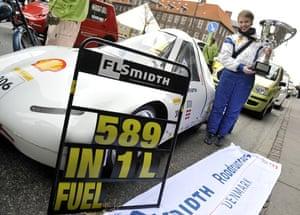 Copenhagen Diary: COP15: Shell Eco-marathon