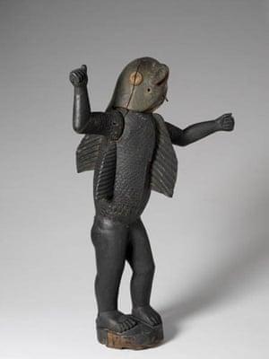 Arstist of Abomey: Statue royale anthropo-zoomorphe
