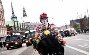 Copenhagen diary: COP15 : An environmental activist clad as a clown