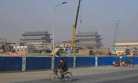 The Qianmen area in Beijing