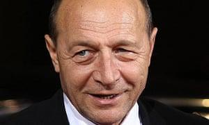 Traian Basescu, the Romanian president