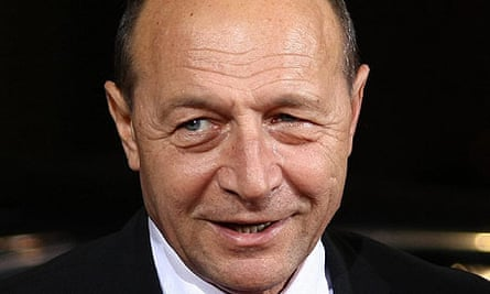 Traian Basescu, the Romanian president