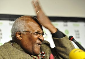Copenhagen Diary: COP15 : Archbishop Desmond Tutu