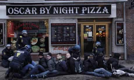 Copenhagen protesters