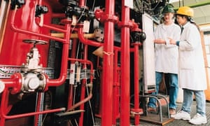 Chemical engineering pilot plant