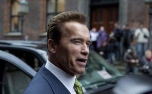 Drought in North Kenya: COP15 California Governor Arnold Schwarzenegger