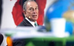 Drought in North Kenya: COP15 New York's mayor Michael Bloomberg