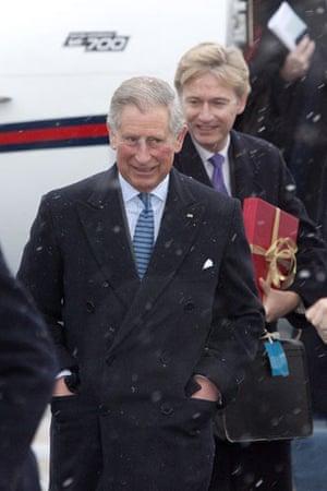 Drought in North Kenya: COP15 Britain's Prince Charles