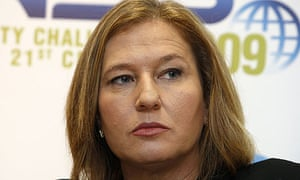 Israel's former foreign minister Tzipi Livni