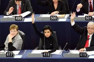 Rachida Dati: European deputy Rachida Dati