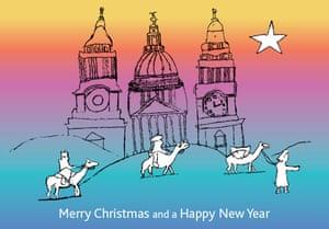 christmas cards: Mayor of London, Boris Johnson's 2009 Christmas card