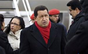 who is in Copenhagen: COP15 Venezuela's President Hugo Chavez