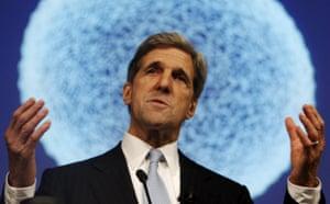 who is in Copenhagen: COP15 Senator John Kerry
