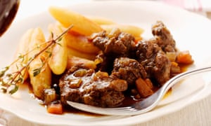 Venison stew with potatoes