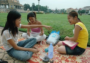 Been there photos: Picnic in Cambodia