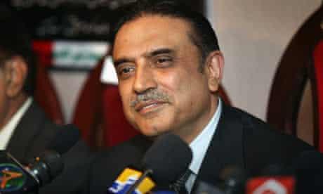 President Asif Ali Zardari