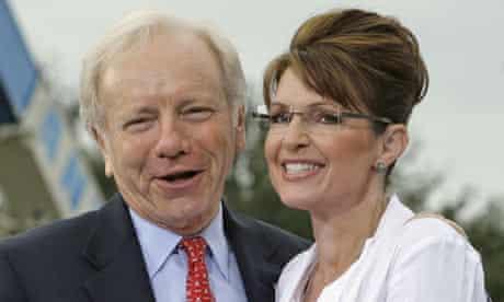 Joe Lieberman and Sarah Palin