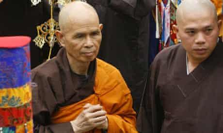 Vietnamese Buddhist leader, Thich Nhat Hanh