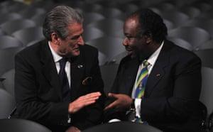 Who is in Copenhagen: COP15 Ali Bongo Ondimba Sali Berisha