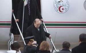 Who is in Copenhagen: COP15  Algerian President Abdelaziz Bouteflika