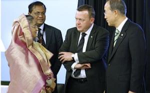 Who is in Copenhagen: COP15 Bangladeshi Prime Minister Sheikha Hassina Wajed