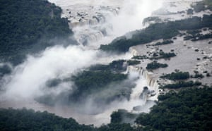 Week in wildlife: Iguazu falls is seen along the border of Brazil with Argentina