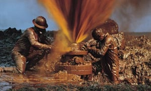 Don't waste it . . . capping an oil well.