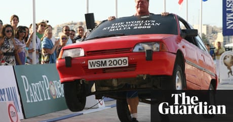 While you nurse your New Year hangover, the World\'s Strongest Man ...