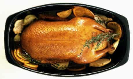 A roast goose