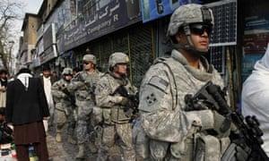 US troops in Kabul