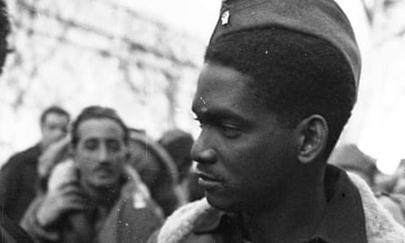 Unidentified black soldier who died in the Spanish civil war