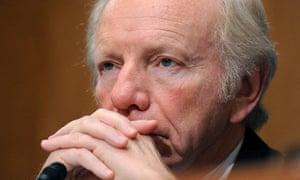 US Senator Joe Lieberman, Nov 19, 2009