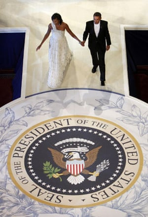 Icons of the decade: Barack and Michelle Obama dance at the Commander-In-Chief inaugural ball