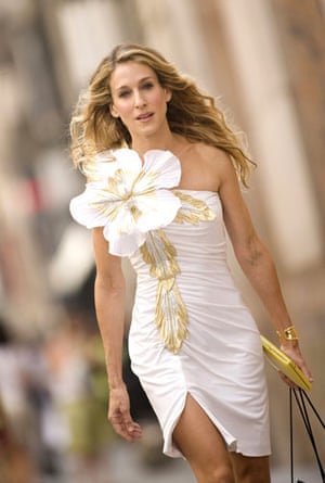 Icons of the decade: Sarah Jessica Parker as Carrie Bradshaw in the Sex in the City film