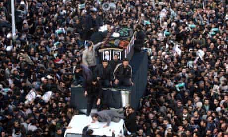 Funeral of Grand Ayatollah Hossein Ali Montazeri