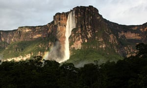 Angel Falls, the world's highest waterfall