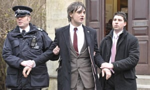 Pete Doherty at Gloucester Crown Court